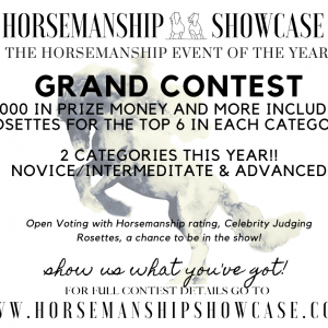 Horsemanship Showcase 2021 - Grand Contest